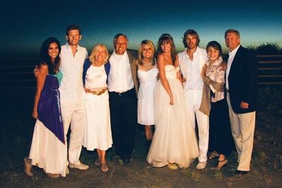 Miscellanea - Daniela Ruah attending the wedding of Eric ...